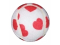 Image Of Walkerballs, White with Hearts , Pair